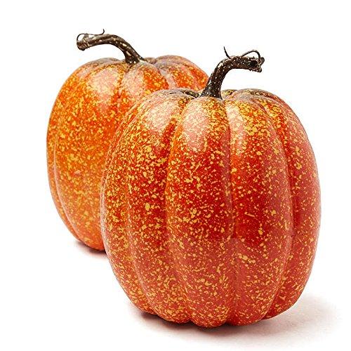 (Factory Direct Craft Big Festive Artificial Pumpkins for Indoor Decor - 2)