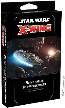 Fantasy Flight Games- Star Wars X-Wing 2.0 - No me hables de probabilidades, Color (SWZ64ES): Amazon.es: Juguetes y juegos