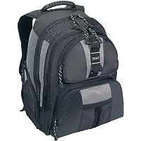 Targus TSB212 Sport Standard Backpack for Unisex - Polyester, Black/Silver