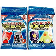 Power GoGo's Crazy Bones - Series 4 -2 Pack Set- Each Pack of 2 Figures & 2 Stickers - New Game Exclusive Collectable Edition