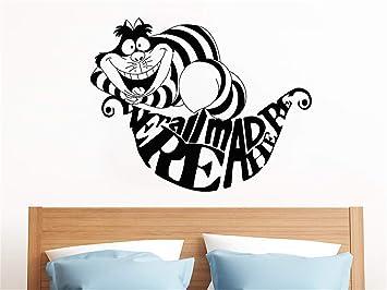 Alicia en el País de las Maravillas Cheshire Cat Cita Decoración ...