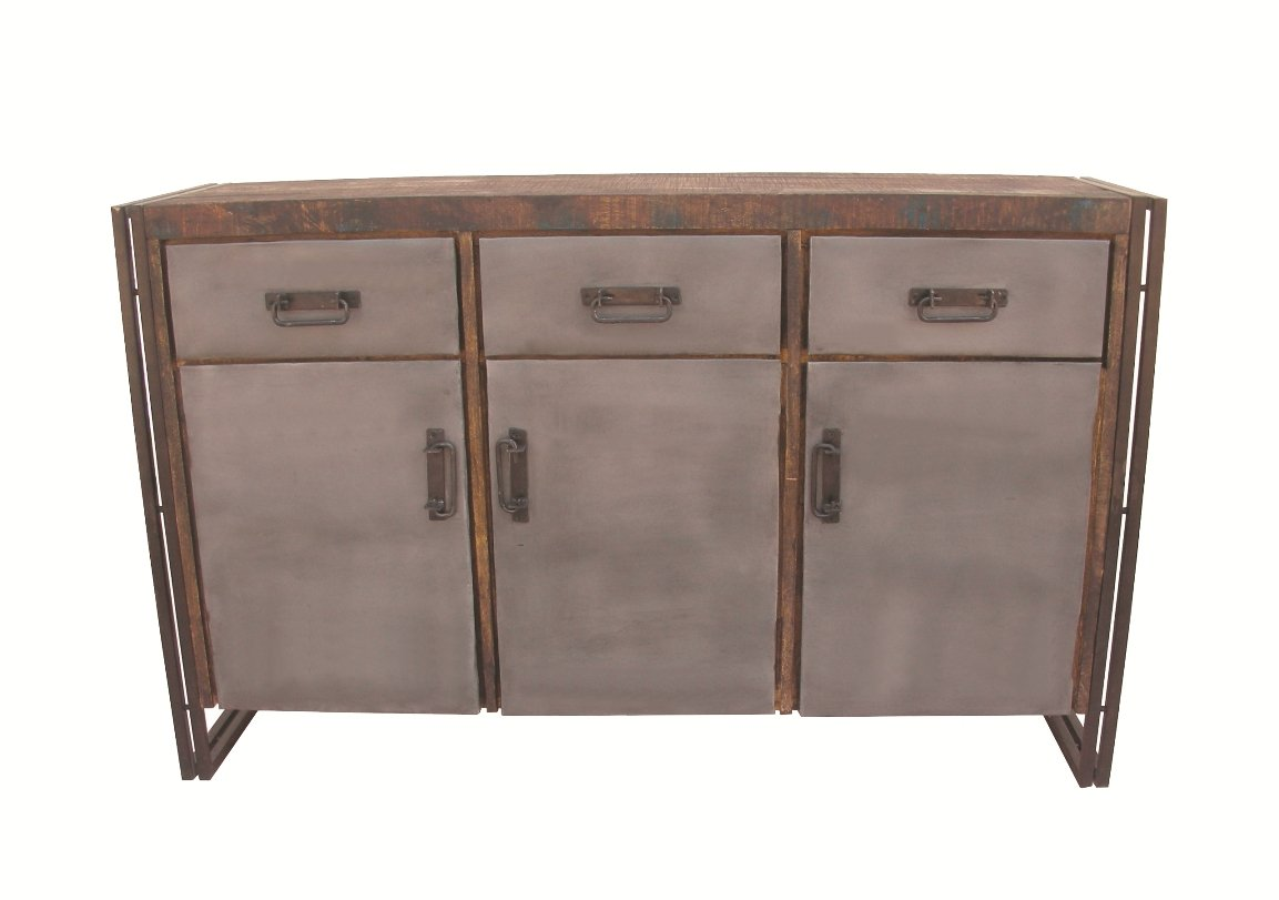 Moti Furniture Allison 3 Door Buffet with 2 Drawers