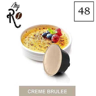 48 Cápsulas compatibles Nescafé Dolce Gusto - Crème brûlée - MyRistretto