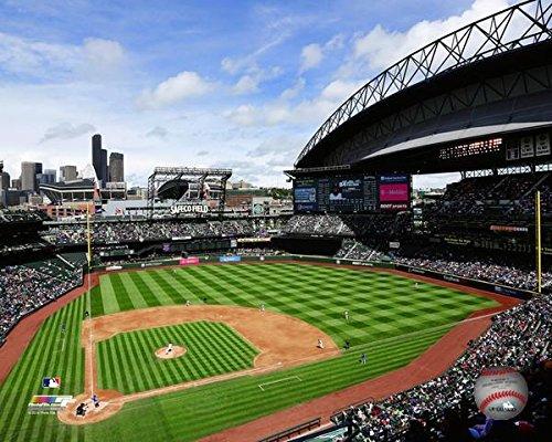 "Safeco Field Seattle Mariners MLB Stadium Photo (Size: 20"" x 24"")"