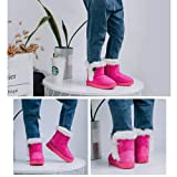 CIOR Fantiny Toddler Snow Boots for Baby Girl Fur