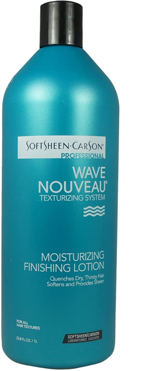 Wave Nouveau Moisturizer Finishing Lotion 33.8 oz (Pack of 3) 3 Pack - Curad Scar Therapy Advanced Gel Strips 6 Each
