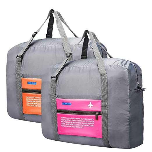 Image Unavailable. Image not available for. Color  Travel Duffel Bag  Foldable Travel Luggage ... 0569dd0d64