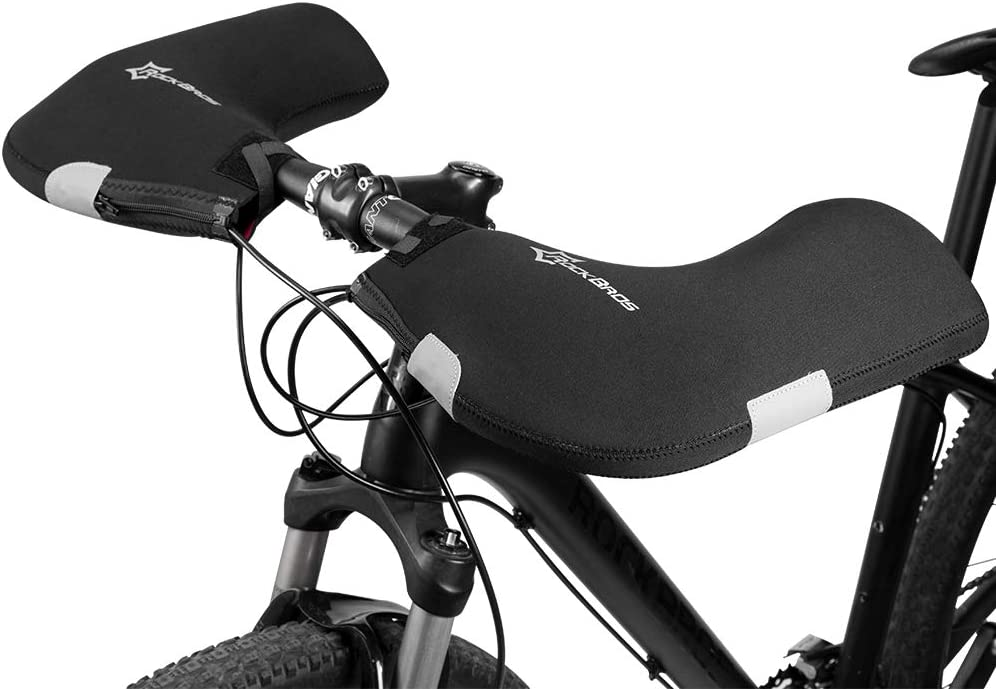 BNVB Cycling Warmer Mitts Gloves Road//Mountain MTB Bike Bar Handlebar Mittens