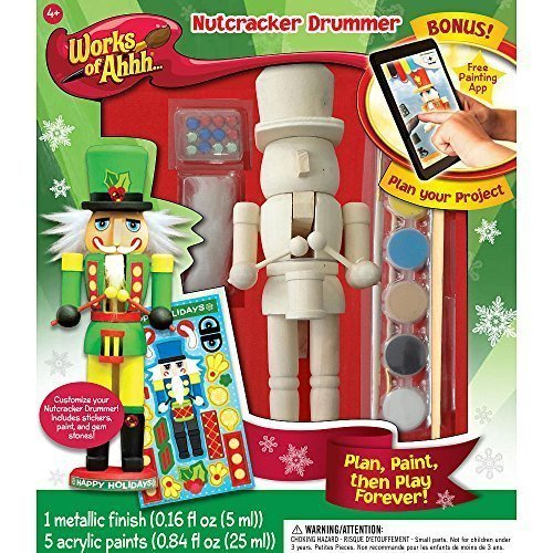 Paint Your Own Nutcracker Drummer by MasterPieces ()