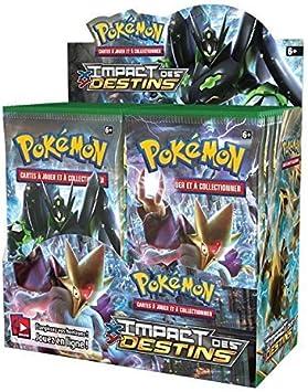 Pokémon - Juego De Cartas - Amplificadores Franceses - Caja De 36 AMPLIFICADORES Xy - Impacto De las Destinos: Amazon.es: Juguetes y juegos