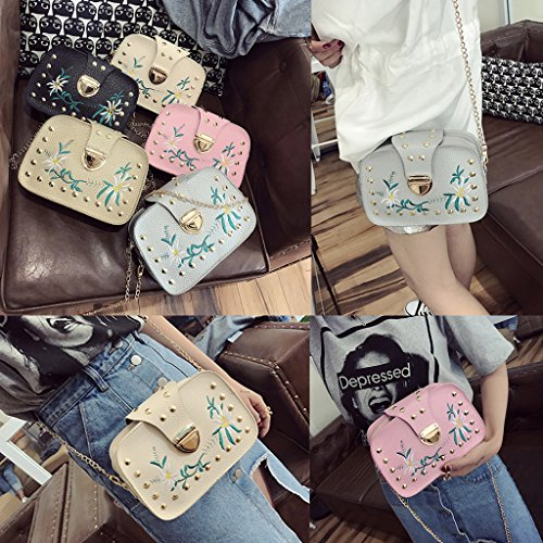 Bags Purse Chain Gold Pink Hobo Women Shoulder Lady Handbag Tote Messenger JAGENIE HUq6A0H