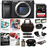 Cheap Sony a6300 Mirrorless Digital Camera Body with 64GB SD Card and Battery Pack Bundle