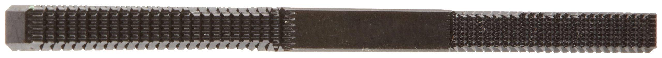 Nicholson Hand File, Thread Restoring, Thread Teeth, Square, Metric Bolt, 6'' Length
