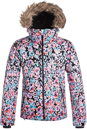 Roxy Girls' Big American Pie Snow Jacket, Madison Flowers, 16/XXL from Roxy