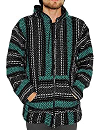 Striped Woven Eco-Friendly Hoodie