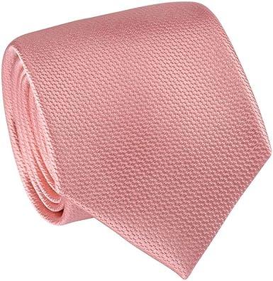 Cravatta tinta unita 100/% seta Tie RACK