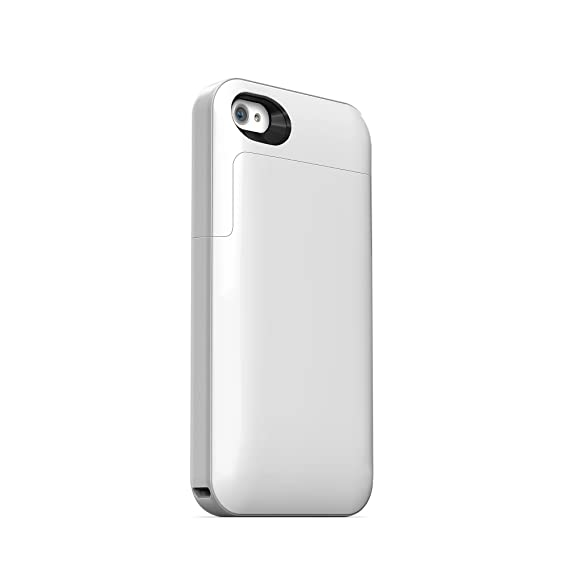 sports shoes 8e068 0ec81 mophie juice pack Air for iPhone 4/4s (1,700mAh) - White