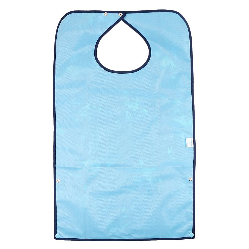 Rosenice Adult Bib for Eating Waterproof Clothing Protectors Aid Apron
