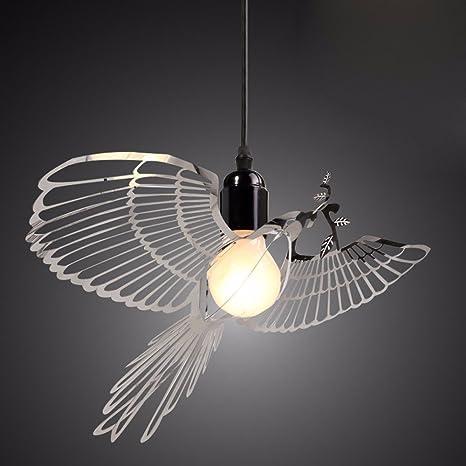 Modern fashion decorative lighting stainless steel bird pendant lamp modern fashion decorative lighting stainless steel bird pendant lamp chandelier decorationstainless steel color aloadofball Gallery