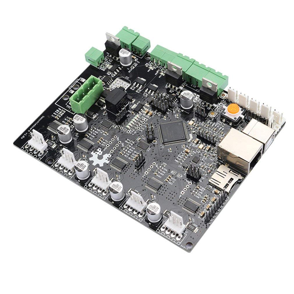 Zamtac 3D Printer Motherboard Engraving Machine Main Control Board Smoothieboard 5X V1.0 CNC Open Source firmware - (Color: Black) by GIMAX (Image #4)