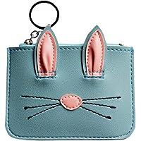 Ridecyle Mini Gatto Orecchie Zip Portamonete Portachiavi Borsa Superhero Party Bag Filler