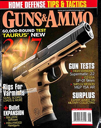 Guns and Ammo, June 2007 Ballistic Silver Tip Bullet