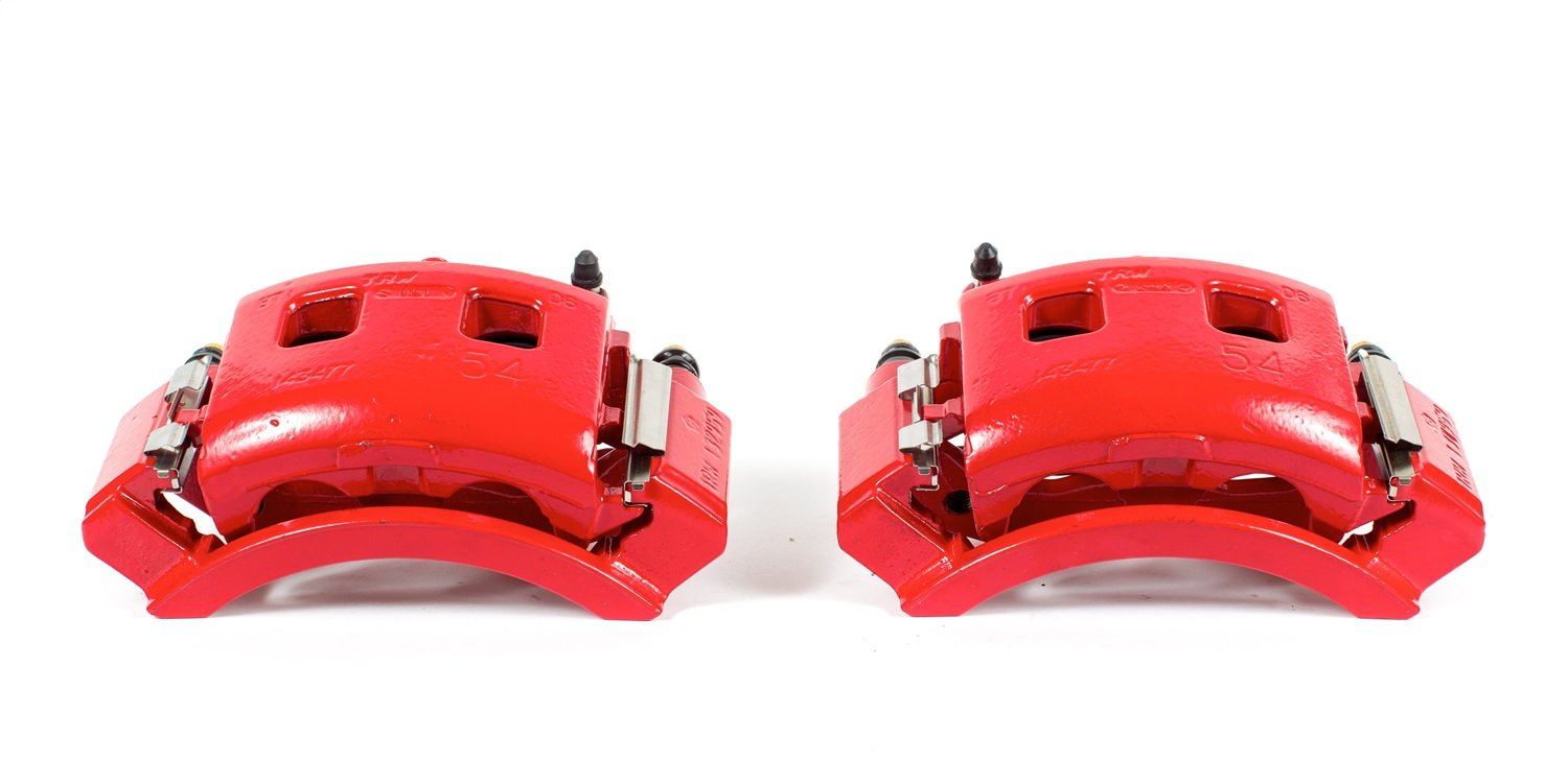 Power Stop S4762 Red Powder-Coated Performance Caliper