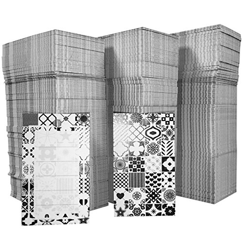 """Hatinkaart - Pricing Tags - 1000 Pack - Perforated Double-Sided Labels - 1.96"""" x 1.18"""" - model B"""
