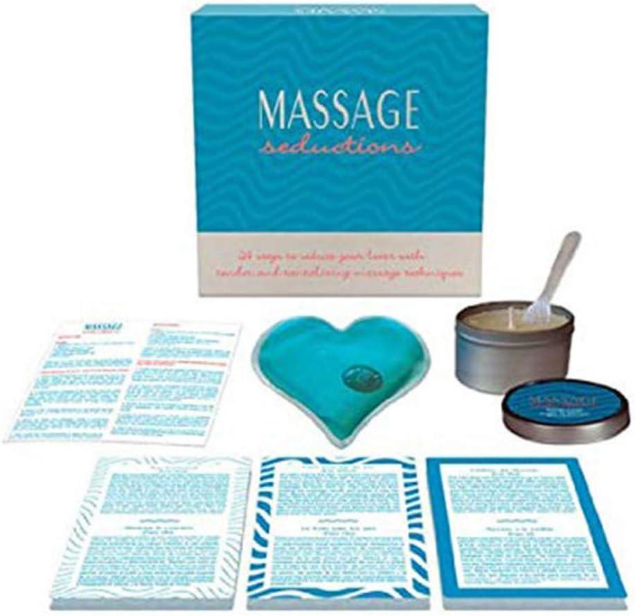 Juego Erótico Mesa Massage Seductions - Kheper Games: Amazon.es ...