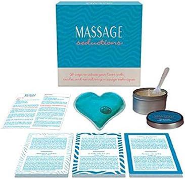 Juego Erótico Mesa Massage Seductions - Kheper Games: Amazon.es: Salud y cuidado personal