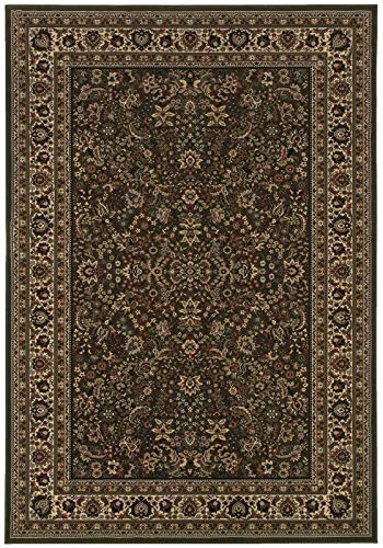 Oriental Weavers A213G8360450ST Ariana Area Rug, 12x15, Green/Ivory (Outdoor Ariana Furniture)