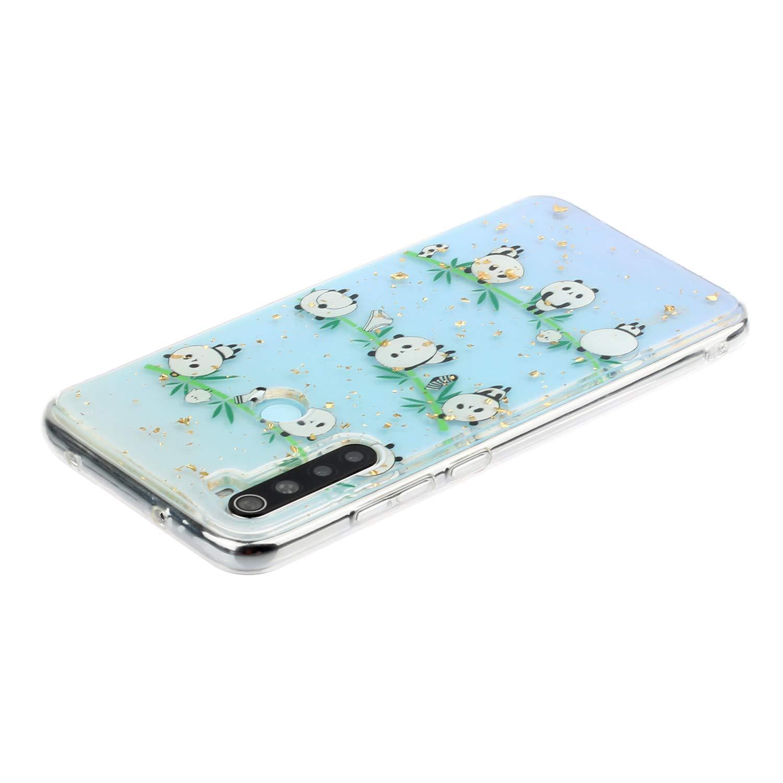 C/árcasa Silicona Transparente con Dibujos Dise/ño Suave Gel TPU Antigolpes de Protector Case Cover Fundas HiCASE Pro Funda para Xiaomi Redmi Note 8