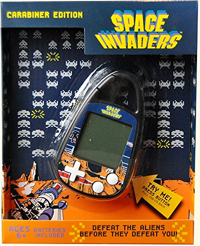 - Basic Fun Space Invaders Electronic Carabiner