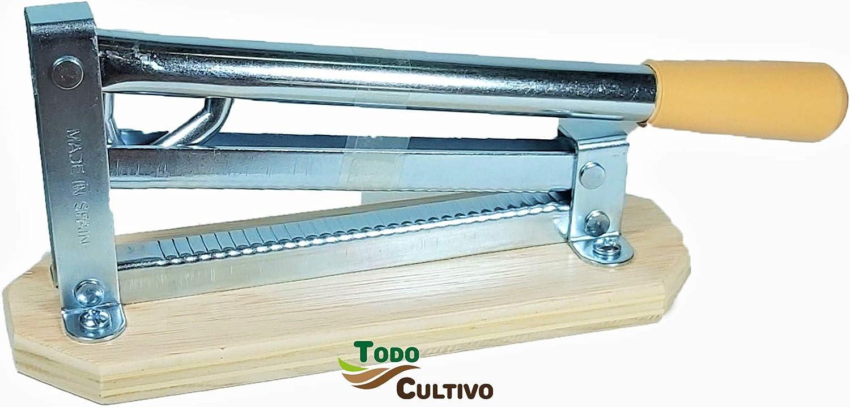 Cocodrilo Cascador partidor de Frutos Secos: almendras, nueces, avellanas, etc (Sistema Patentado)