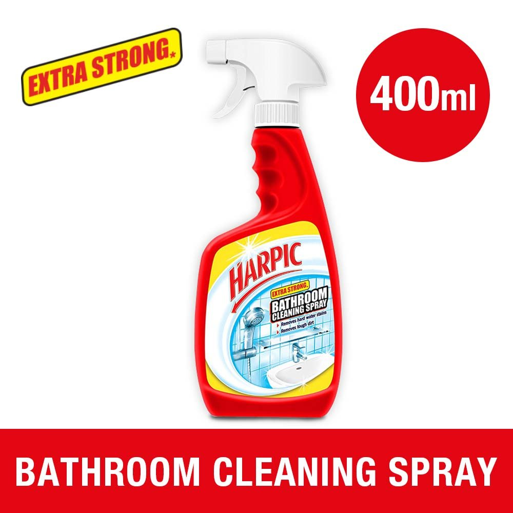 Cif power amp shine bathroom - Harpic Extra Strong Bathroom Cleaning Spray 400 Ml Amazon In Health Personal Care