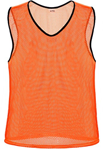 Unlimited Potential Nylon Mesh Scrimmage Team Practice Vests Pinnies Jerseys Bibs for Children Youth Sports Basketball, Soccer, Football, Volleyball – DiZiSports Store