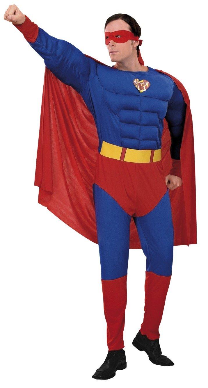Boys Toys Disfraz Superman Musculoso Talla S: Amazon.es: Juguetes ...