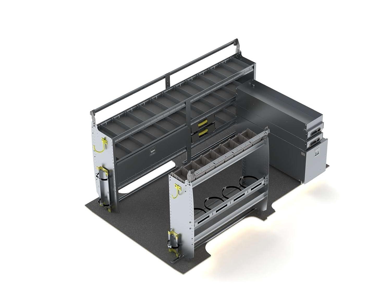 Van棚パッケージ HVAC Van Shelving Package K212 B0768JBKFF