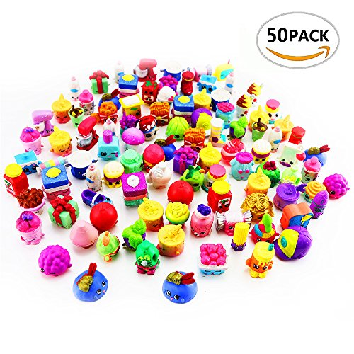 50Pcs/lot Many Styles Fruit Doll Shop Family Kins Action Figures Pen Puppets 1 2 3 4 5 6 Seasons Kid Playing Toy Christmas - Four Shop Seasons