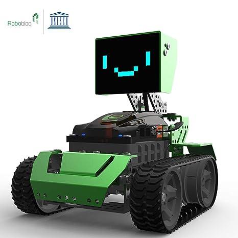 Kit de construcción de Robot 6-en-1 Robótica para niños, Qoopers ...