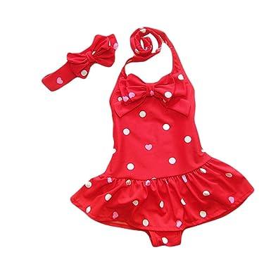 taiyc yxgan Baby – Bañador para niña infantil Princesa de baño ...