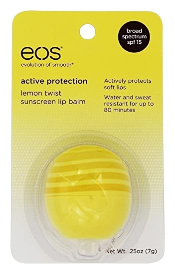 Eos Evolution of Smooth - Sunscreen Lip Balm Sphere Lemon Twist 15 SPF - 0.25 oz. (pack of 12) Avon Foot Works Beautiful Ginger & White Tea Clay Mask