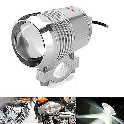 KATUR Chrome 30W CREE U2 U3 LED Motorcycle Car Truck Spot Fog Headlight Light Lamp Waterproof: Automotive