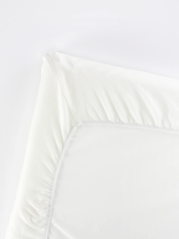 BABYBJÖRN Drap-housse en coton bio pour Lit Parapluie, Blanc BabyBjorn 43035