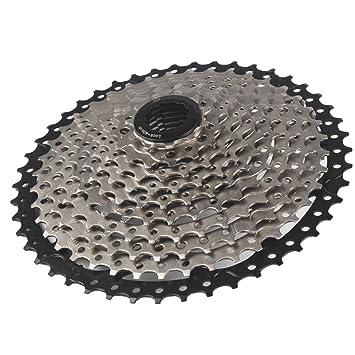 Cassette De La Velocidad De La Bicicleta, Relación Ancha del Piñón ...