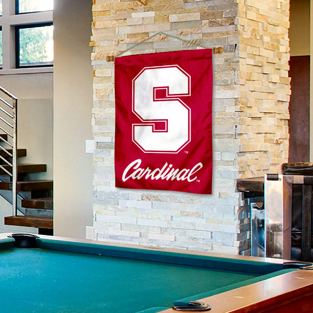 Stanford Cardinal Banner with Hanging Pole College Flags and Banners Co