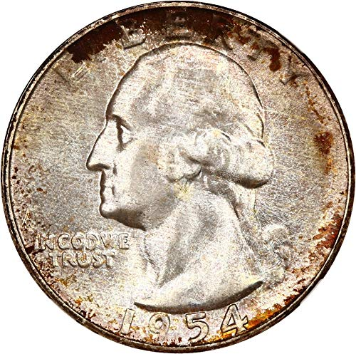 1954 S Washington Quarters (1932-98) Quarter MS67 NGCCAC