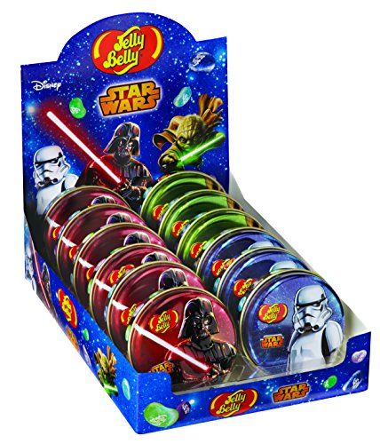 Jelly Belly Star Wars Jelly Beans, Galaxy Mix, 1-oz Tin, 24