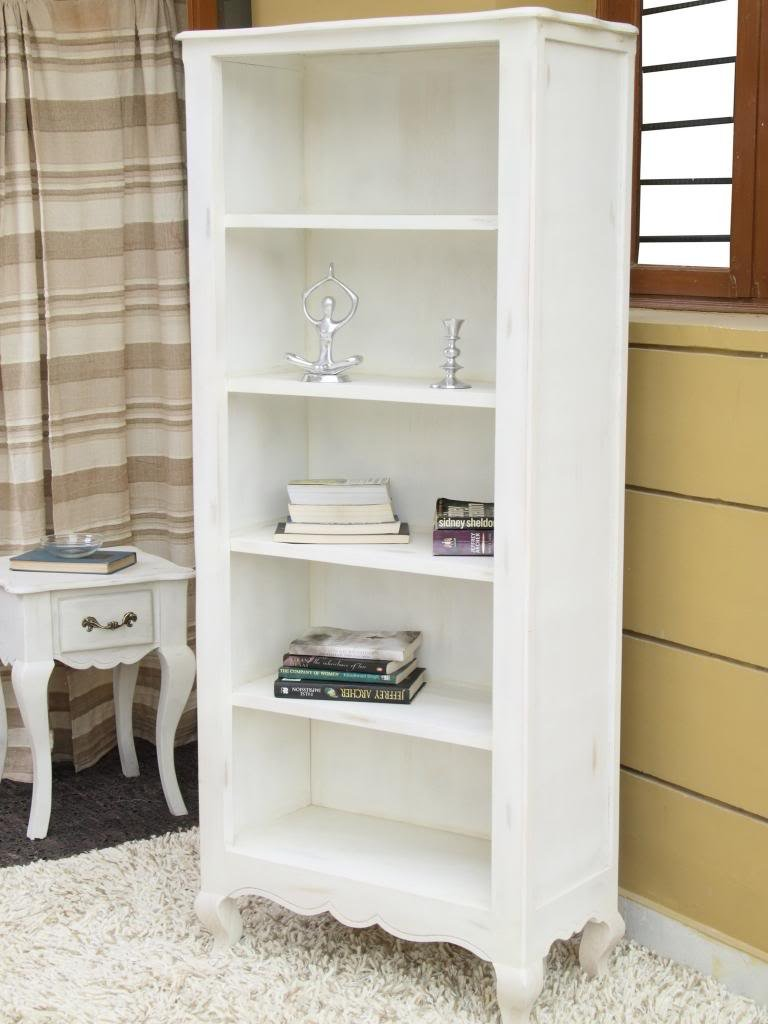 Homescapes Vintage Bookcase With Cabriole Legs New Orleans French