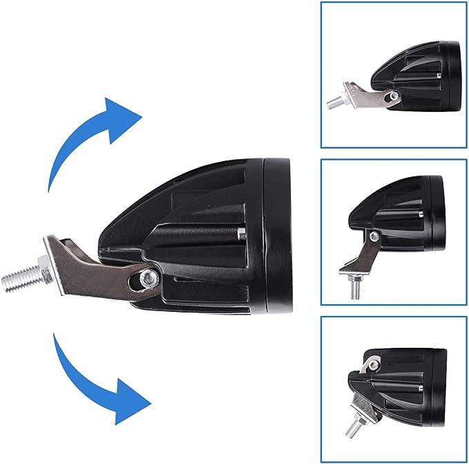 20w Led Blau Gabelstapler Licht Warenhaus Sicherheitswarnleuchte 12 80v Auto